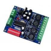 5-36V 4ch Rgbw Dmx Controller Dmx512 Decoder WS-DMX-HLB-4CH-700MA