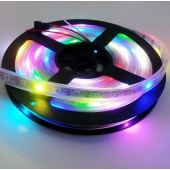 5M 300LEDs WS2812B Individual Addressable 5V RGB LED Strip Light