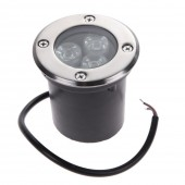 3W LED Underground Light Garden Buried Landscape Inground Recessed Lamp