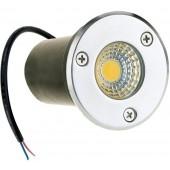 3W 12V COB LED Buried Recessed Floor Lamp IP67 Waterproof Landscape Lighting