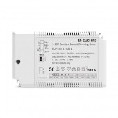 40W 850~1200mA CC 1-10V Driver EUP40A-1HMC-1 Euchips Constant Current Dimmable Driver