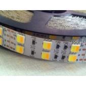 5M 12V 5050 120LEDs/m LED CT Color Temperature Adjustable Strip Light