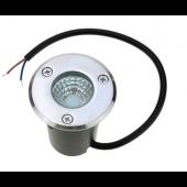 5W AC85-265V COB LED Underground Lamp Waterproof Landscape Buried Light