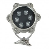 6W LED Underwater Light IP68 Waterproof 12V 24V Fountain Pool Foodlight Lamp