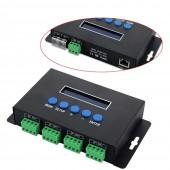 BC-204 Artnet to SPI DMX Pixel Light Bincolor Led Controller Eternet Protocol 5V-24V