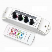 BC-354RF Bincolor Led Rotary CV Multi Function Light Display RGBW Remote Controller