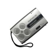 BC-R29 Mini Portable Radio Handheld AM FM Radio Stereo Speakers Music Player Dual Band Receiver Channel