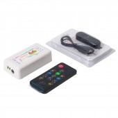 Bluetooth Music Dream Color Controller 5-24V RF Remote for WS2812B WS2811 WS2813 Strip