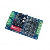 Constant current 3CH/4CH Easy DMX DMX512 LED Decoder 350MA/700MA DMX Controller