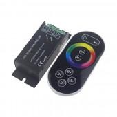 DC 12-24V Remote Control RF Wireless Touch RGB LED Controller LN-CON-TRF8B(T)-3CH-LV