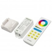 DC12-24V Sensitive Full Touch RGBW LED Controller Automatic Adjustable FUT044A