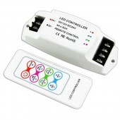 BC-361-4A Bincolor Led Controller 12V-24V with RF Remote Wireless Control
