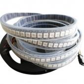 5V 144LEDs/m APA102 5050 RGB LED Pixel Strip Addressable Light 1M