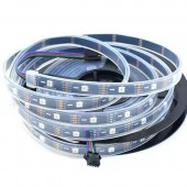 30LEDs/m APA102 RGB Smart LED Pixel Addressable Strip DC 5V 5M 150LED