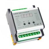 DMX701 DMX four Channels Rail Decoder Leynew LED Controller