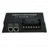 DMX 512 LED Decoder Controller Dimmer Driver DC 12V 24V 5A 4 Channel