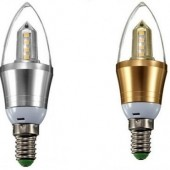 E14 9W 2835 SMD 16LEDs Chandelier Candle Down Light Lamp Bulb 3pcs