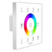 LTECH EX8S LED RGBW Touch Pane Support DMX512 Signal Output Four Zones