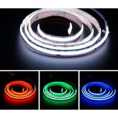 FCOB RGB LED Strip 840LEDs/m 10mm 4pin Wire Lights RA90 Linear Dimmable 24V