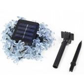 4.8M 20leds Solar Lamp Snowball Snowflake Light Waterproof LED String