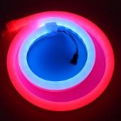 5V WS2812B RGB Led Neon Pixel Light Rope 1M 60LEDs Waterproof Milky Tube