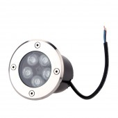 Waterproof 5W LED Underground Light Garden Outdoor Landscape Buried Lamp