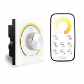 BC-K2-T2 Bincolor Led Controller Switch Knob Wall Single Color/CCT/RGB Rotary Dimmer