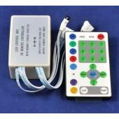 25 Keys Horse Race IR Remote RGB LED Controller 12V