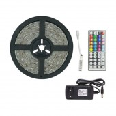 LED Light Strips Flexible RGB 5050 Decoration Lamp Infrared Remote Control Lighting Gear