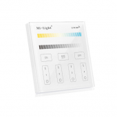 Mi.Light T2 4-Zone CCT Adjustable Touch Panel Wall Mounted Controller