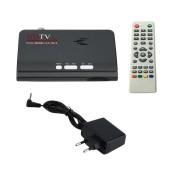 DVB-T DVB-T2 TV Satellite Tuner Receiver DVB T/T2 TV Box VGA AV CVBS 1080P HDMI Digital HD With Remote Control