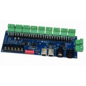 27 Channels LED DMX512 Decoder with XRL 3P RJ45 WS-27CH3A-BAN