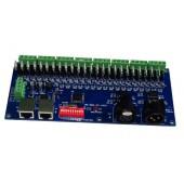 Common Cathode DMX Decoder 24CH Controller WS-DMX-CC-24CH