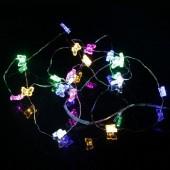 Colorful Butterfly 33ft 10M 100 LED Copper Fariy String Light DC 12V