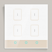 Ltech TK-RF04-A Smart Wall Switch Led Controller Home Intelligent Control Panel