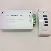 High Power 12V 24V 24A RF RGB LED Controller for Max 40 Meters Strips