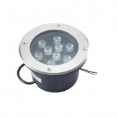 9W LED Underground Light Waterproof Outdoor Spotlight Landscape Lamp