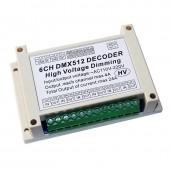 High voltage dimmer 3CH DMX512 LED Decoder DMX Controller