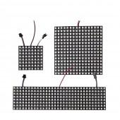 WS2812B RGB LED Panel Screen 8x8 16x16 8x32 Programmed Pixel Light 5V